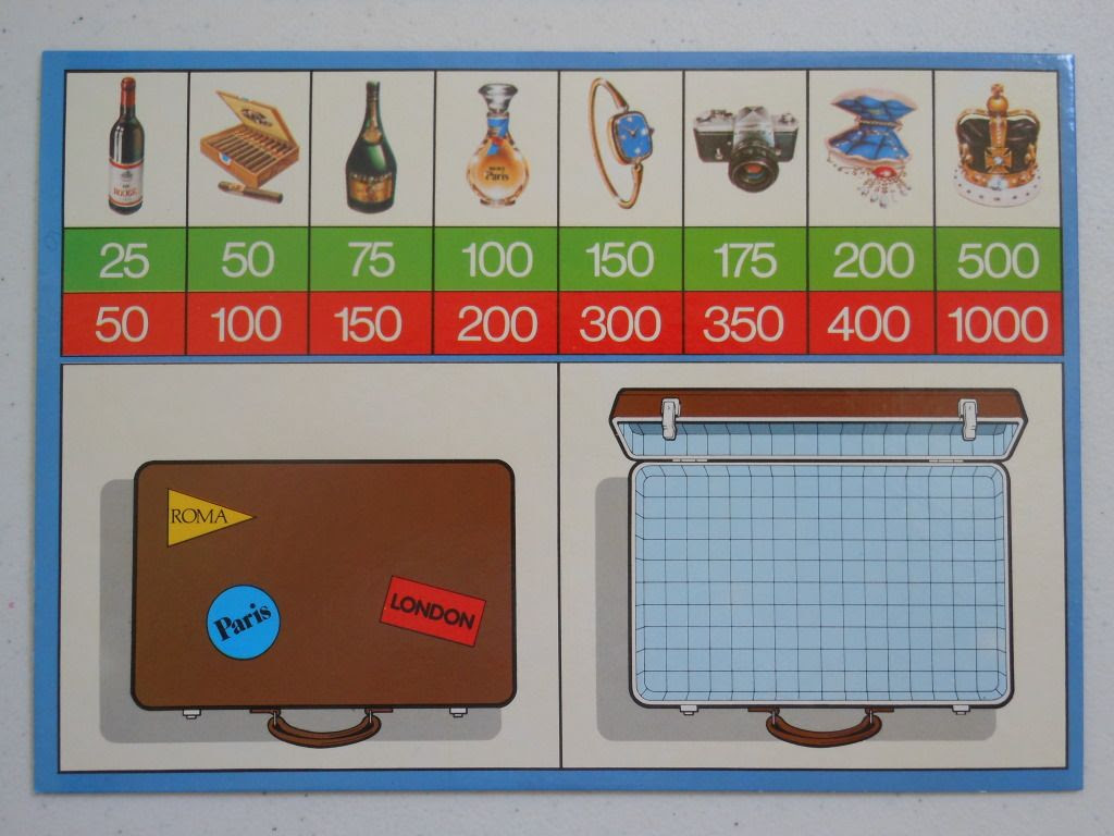 Smuggle aka Contraband - the board