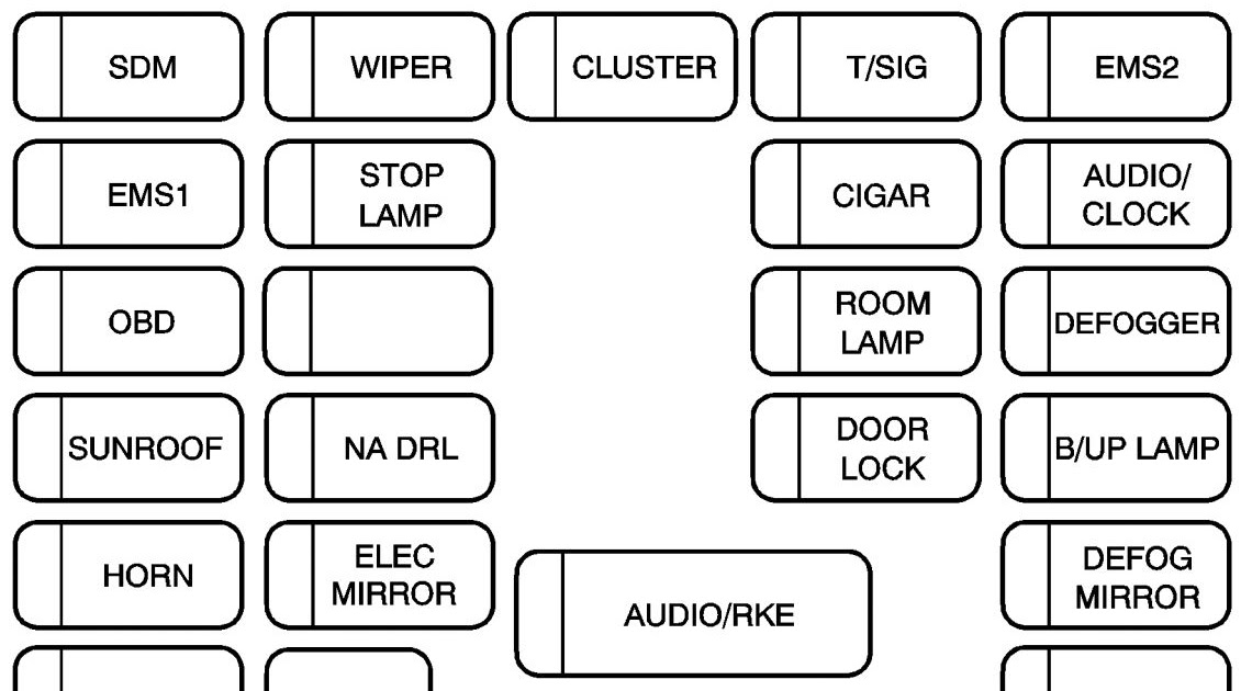2007 Dodge Nitro Fuse Box Diagram