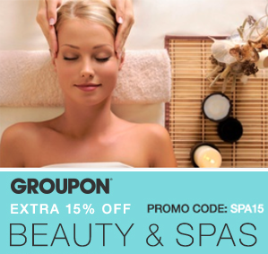 Groupon: 15% Off Any One Local Beauty & Spa Deal ...