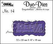 Duo Dies no. 14 Duo Labels 1
