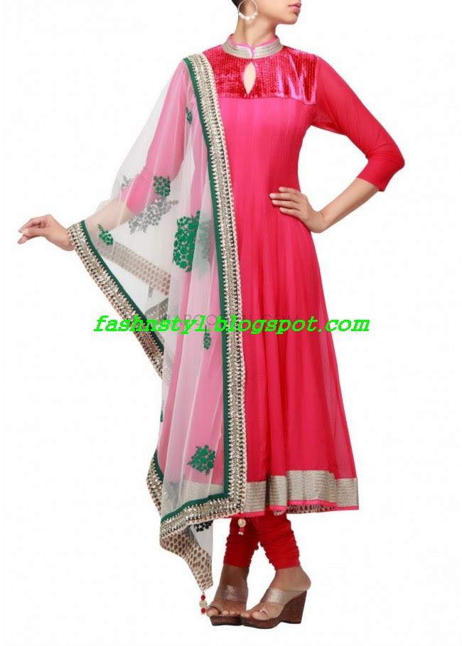 Anarkali-Fancy-Embroidered-Churidar-Frock-New-Fashion-For-Girls-by-Designer-Kalki-8