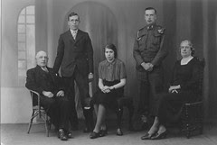 George Ainscough and family