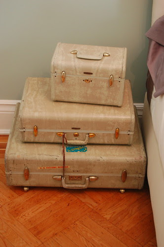 Suitcase Nightstand