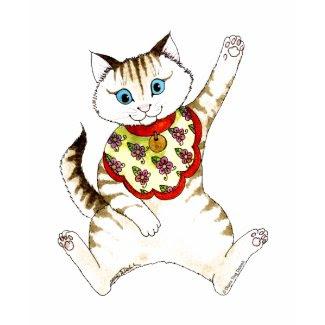 Lucky Cat T-shirt shirt