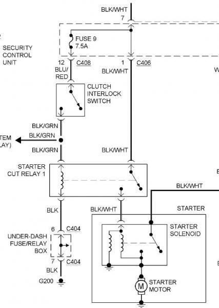 Starter Cut Relay on 92 EX MT - Honda-Tech