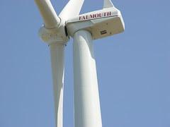Falmouth wind turbine