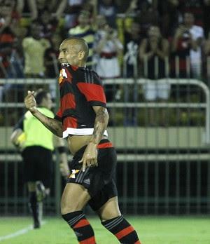 Emerson Sheik, Sheik, gol, Flamengo, Flamengo x Portuguesa (Foto: Gilvan de Souza/Fla Imagem)