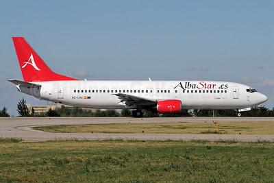 Alba Star (AlbaStar.es) Boeing 737-408 EC-LAV (msn 24352) BLQ (Marco Finelli). Image: 905535.