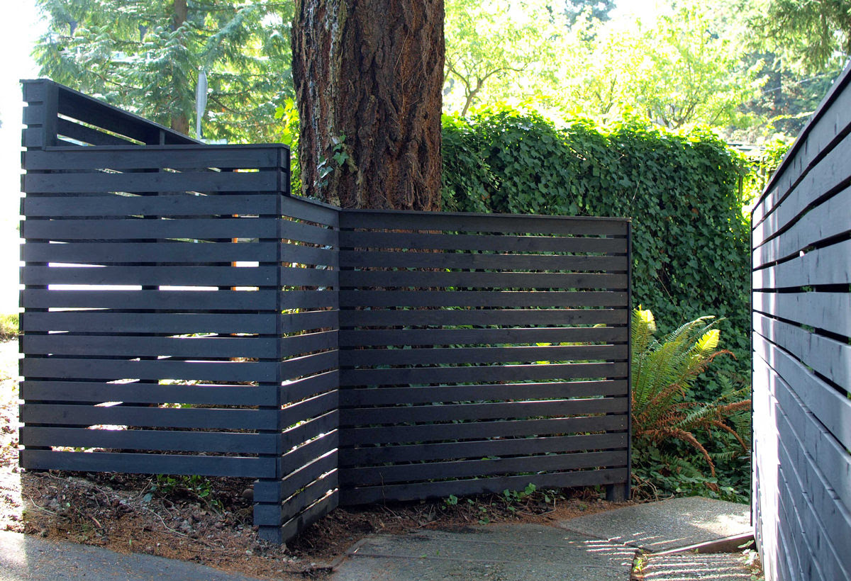 How To Build A Diy Backyard Fence Part Ll Diy Modern Fence Dunn Diy