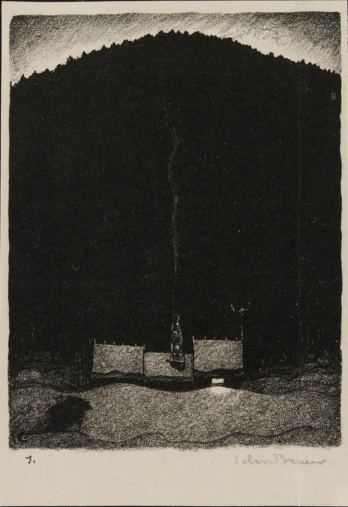 John Bauer - Lithograph 4 (1915)