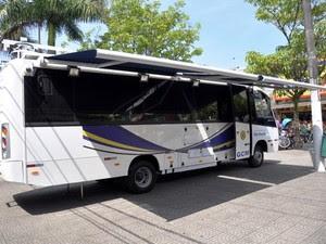 Unidade ficará instalada no Centro e na orla da cidade  (Foto: Divulgação/Prefeitura de São Vicente)