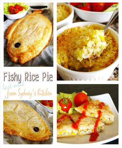 Fishy Rice Pie