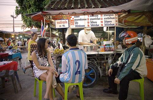 Roti (Pancake) stall