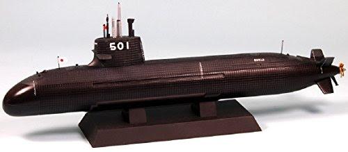 1/350 海上自衛隊潜水艦 SS-501 そうりゅう型 (塗装済半完成品)