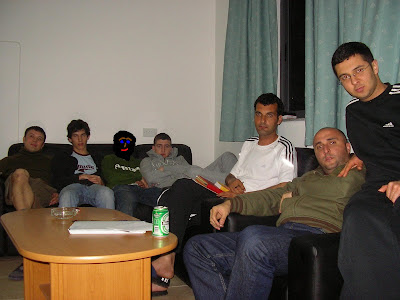 My flatmates in Malta