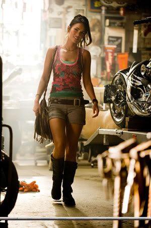 Megan Fox as Mikaela Banes.