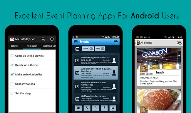 Excellent Event Planning Apps For Android