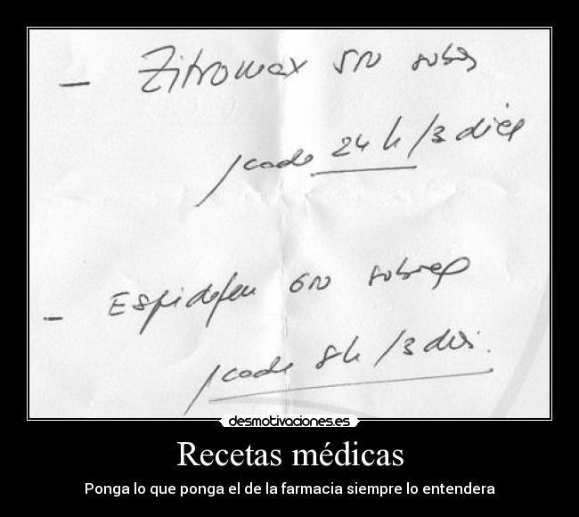 Resultado de imagen para imagen de medico escribiendo una receta