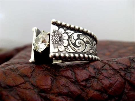 Western Wedding Rings by Travis Stringer. Like him on