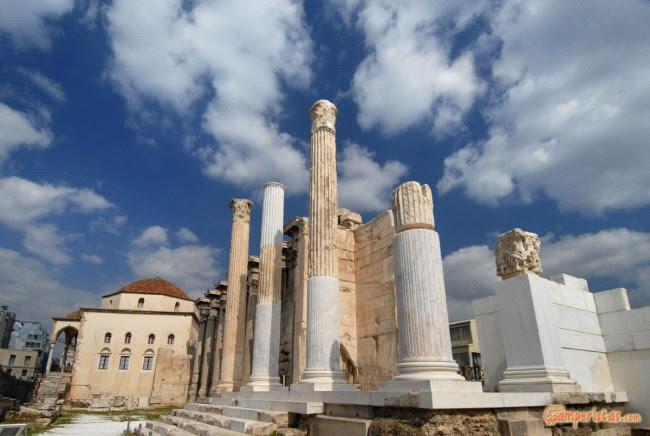 Atene, biblioteca di Adriano