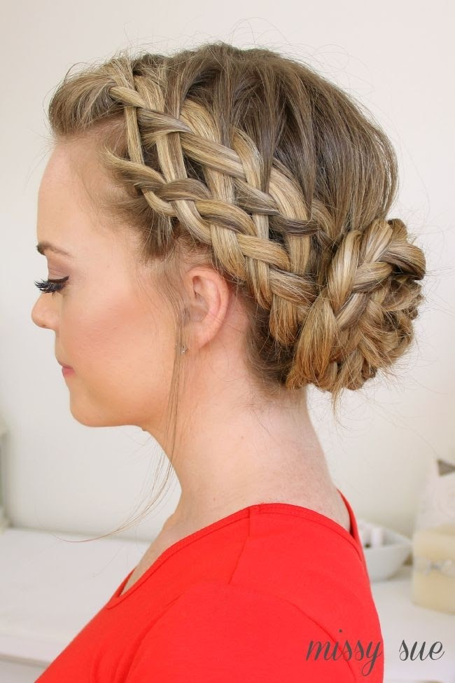 20 Pretty Braided  Updo  Hairstyles  PoPular Haircuts