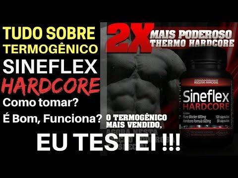 SINEFLEX HARDCORE - O Queimador de Gorduras Hardcore da Power. O que é? Como consome? Presta? Testei