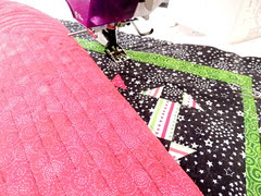 quilting parallel lines