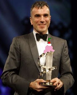 Daniel Day Lewis Enjoys a Milkshake
