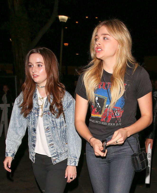 Chloe Moretz and Kaitlyn Dever: We Can Survive Concert -17