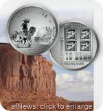 LuckyLuke moneta Francia