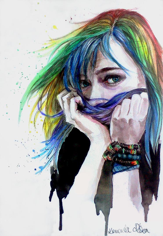 Rainbow Fetish or what by rekamer