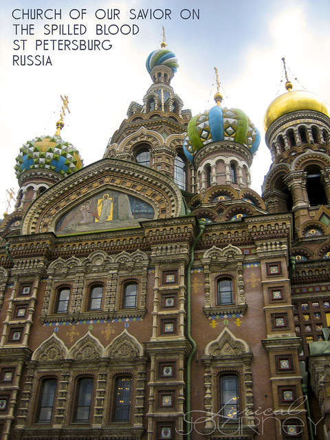 St Petersburg Church of the Spilled Blood
