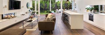 Open Living Room Kitchen Floor Plans