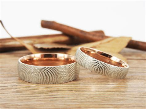 Your Actual Finger Print Rings, WEDDING RING, Family