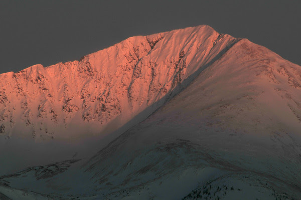 Mount Guyot First Light, 2009