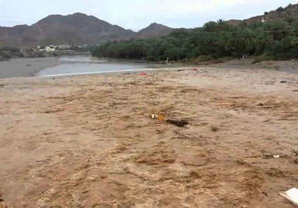 Βρέχει καταρρακτωδώς στην Έρημο  (Βίντεο)