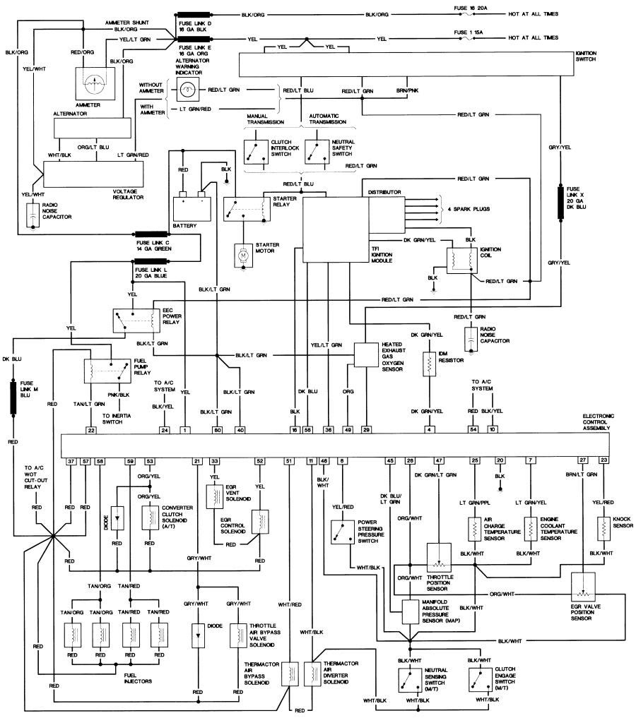 Radio Wiring Diagram 1989 Ford Bronco Ii Electric Wiring Diagrams Begeboy Wiring Diagram Source