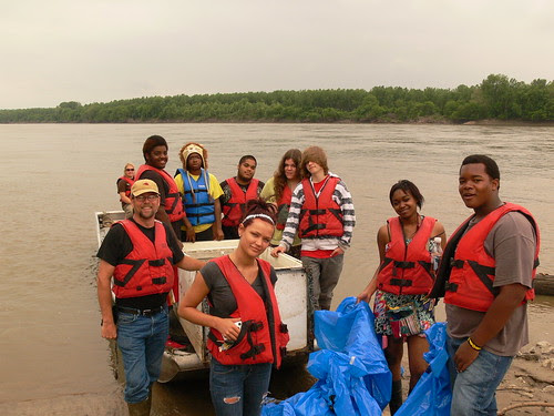 Douglass High School Service Learning River Trips 5-3-12