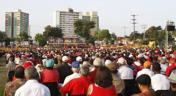 Acto por el Aniversario 60 del Asalto al Cuartel Moncada. Foto: Ismael Francisco/ Cubadebate