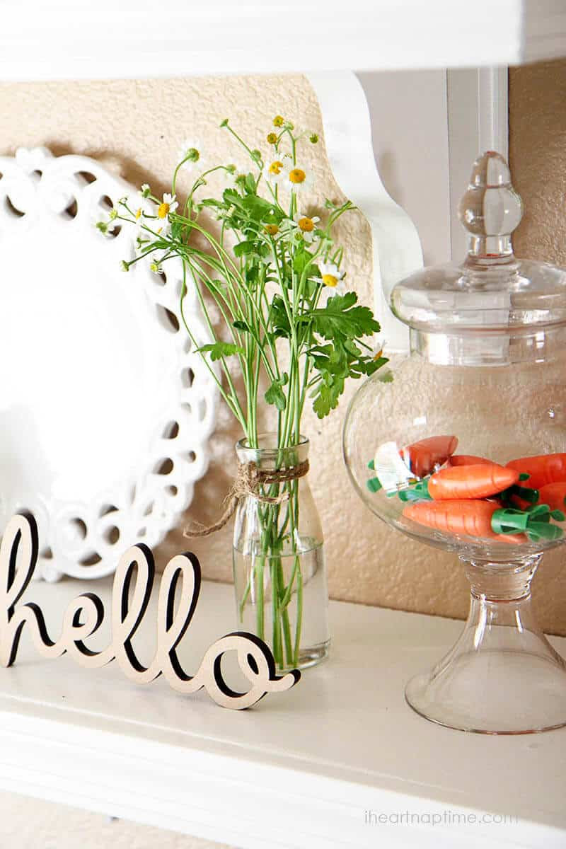 Spring decorating ideas -Time to Spring! I Heart Nap Time | I ...