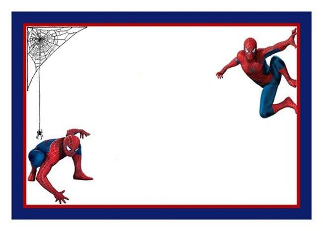 Spiderman Free Printable Invitation Template
