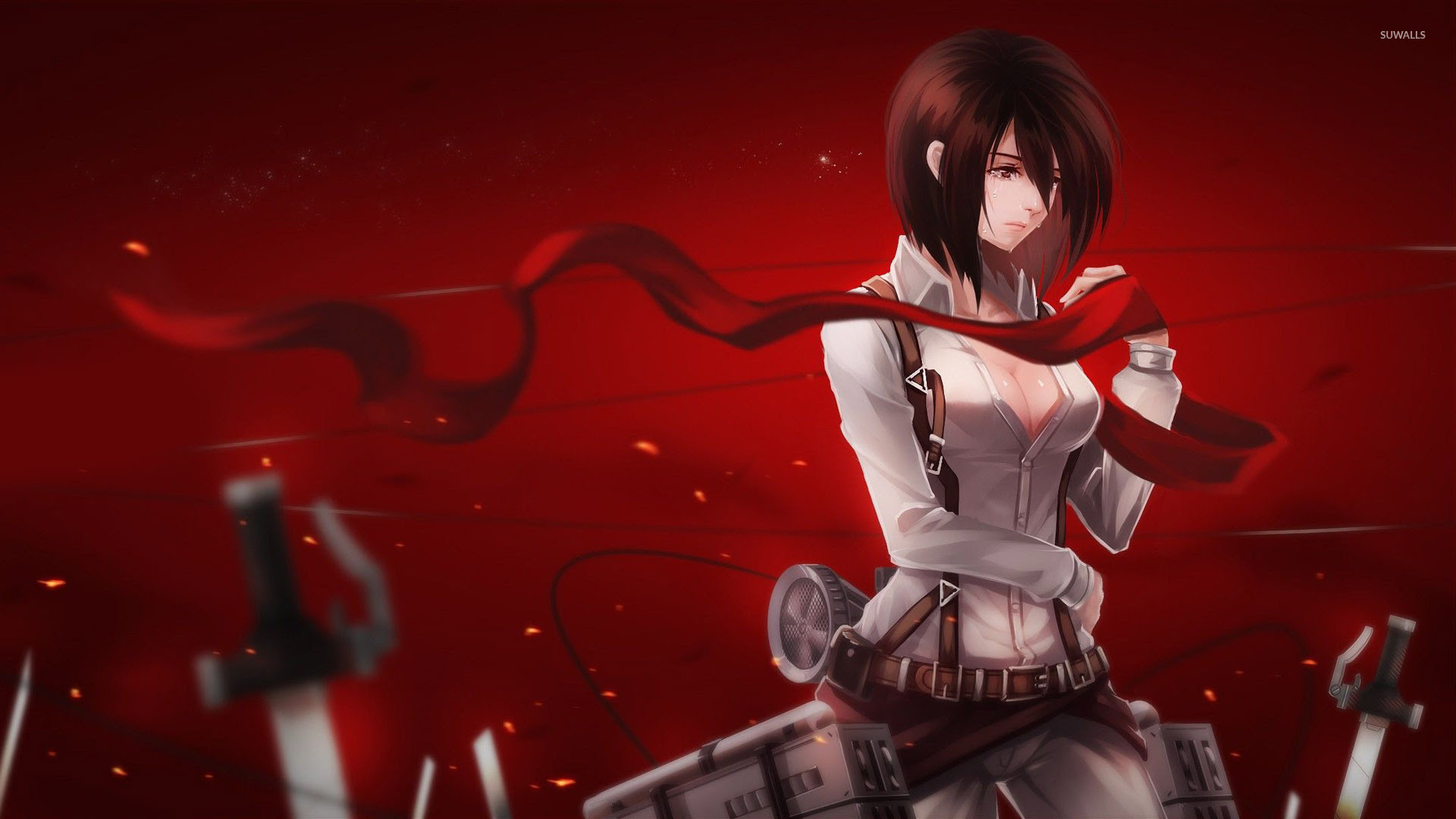 Anime Attack On Titan Mikasa Wallpaper Anime Wallpapers