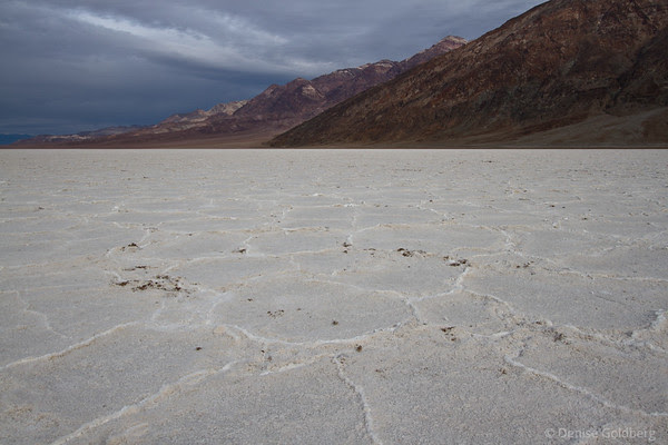 Searching for water, Death Valley