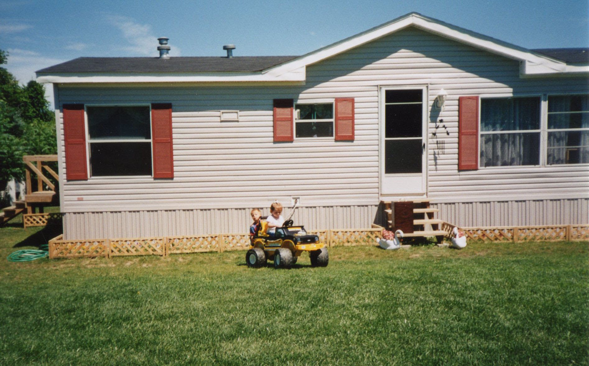 Mobile Home Estate Garden My Mobile Home Makeover