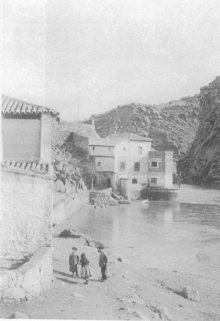 Casa del Diamantista a comienzos del siglo XX. Fotografía de Pedro Román Martínez