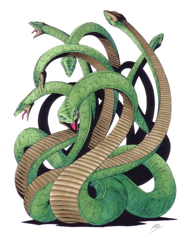 Yamata-no-Orochi - Shin Megami Tensei