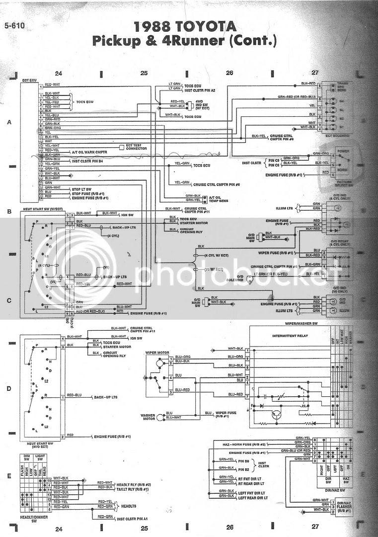 Toyotum Pickup Engine Diagram