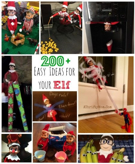 Elf On The Shelf Ideas Over 200 Easy Ideas For Your