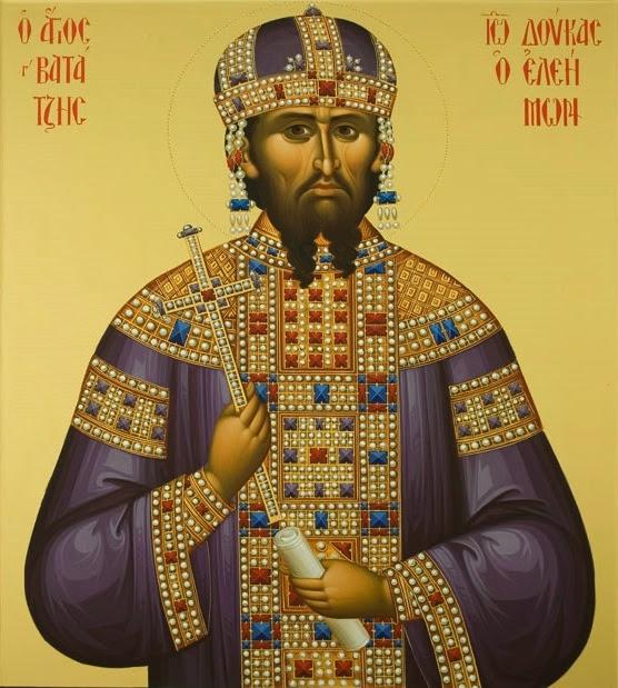 Ο Μαρμαρωμένος Βασιλιάς Άγιος Ιωάννης Βατάτζης