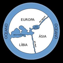 Reconstrução do Mapa de Anaximandro